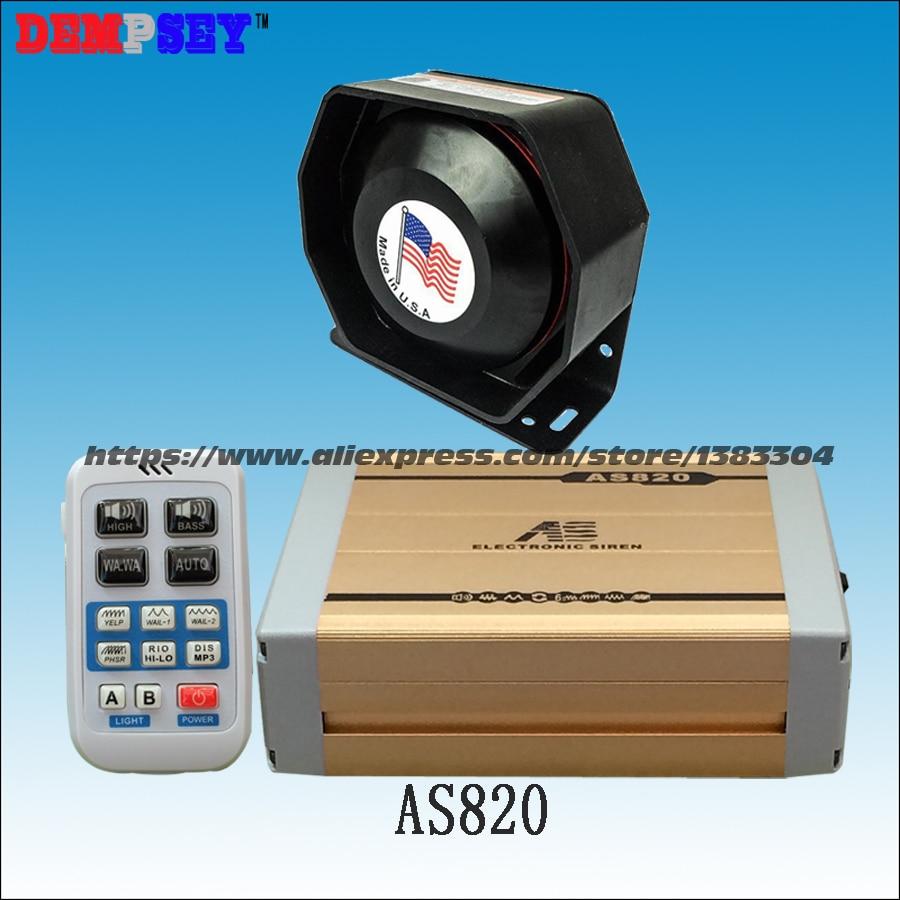 Здесь можно купить  FS AS820 200W Wireless siren with MP3 playback function Propaganda broadcasts inserted U disk with 200W speaker  Безопасность и защита