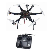 Assembled Full Set Drone RTF HMF S550 Frame GPS APM2.8 Flight Control with Compass AT10 TX/RX No Battery F08618-K