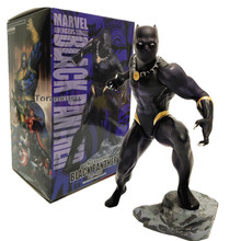 Black Panther PVC Action Figure Avengers Infinity War Black Panther Toys Kotobukiya Artfx Statue Figurine Collectible Model street fighter bishoujo statue cammy alpha costume pvc action figure collectible model toys