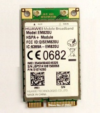 SSEA Wholesale Unlocked HuaWei EM820U 3G WCDMA GSM WWAN Card HSPA 21.6Mb network Mini PCI-E Wlan card
