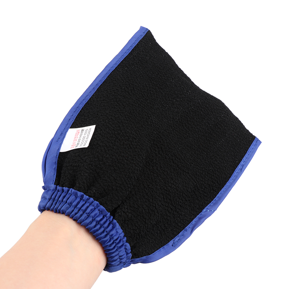 1Pc Body Facial Rub Face Black Dead Skin Removal Hot Sale Korea Beauty Hammam Bath Scrub Glove Exfoliating Rub Massage Mitt