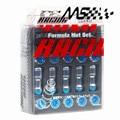 Rays Volk Racing Formula Nuts  Volk Racing Nuts With Lock Lug Nuts M12 x 1.5 iron Lug Nuts 1 set = 20 pcs + 1 key
