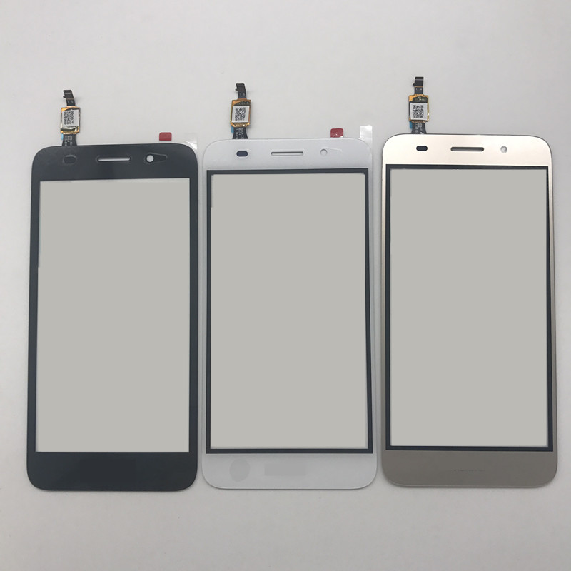 US $4 99 |5 0inch For Huawei Y3 2017 CRO U00 CRO L02 CRO L22 touch screen  with digitizer Glass Lens Panel Front Outer replacement parts-in Mobile
