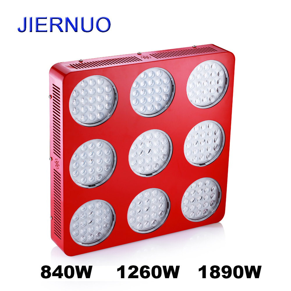 840W 1260W 1890W LED Grow Light high power Grow Led lamp Full Spectrum for Greenhouse garden flowering plants grow tent AE 300w led grow light 3w chips high power 67red 15blue 8white 8orange 1uv 1ir plant grow lamp for greenhouse garden tent growing