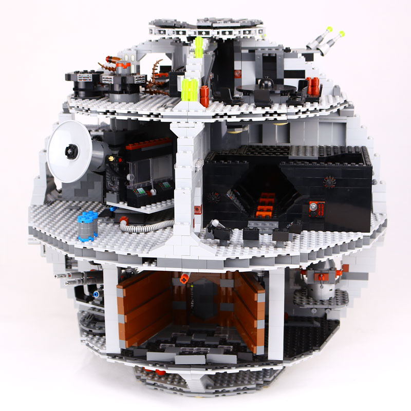 New Lepin 05035 Star Wars Death Star 3804pcs Building Block Bricks Toys Kits Compatible legoed with 10188 Children Educational new lepin 16008 cinderella princess castle city model building block kid educational toys for children gift compatible 71040