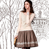 Artka Women S Elizabeth Vintage Style Autumn New Hollow Out Stretchy Lace Cotton 2 Color T