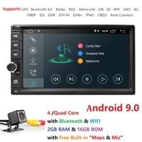 2g ram android 9.0 car dvd for nissan qashqai x trail almera note juke universal multimedia car gps navigation player