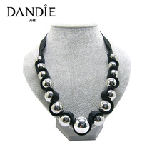 Dandie Special Design Acrylic Beaded Necklace, Womens Accessory