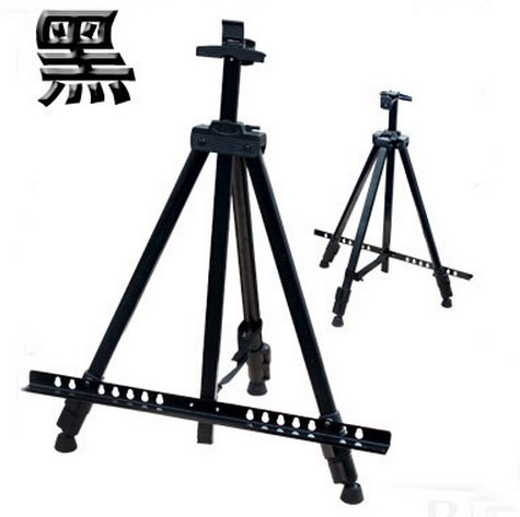 art set Easel Aluminium Alloy Folding Painting Easel Frame Artist Adjustable Tripod Display Shelf With Carry Bag Outdoors Studio 40cm mini artist wooden table folding painting easel frame adjustable tripod display shelf outdoors studio display frame act012