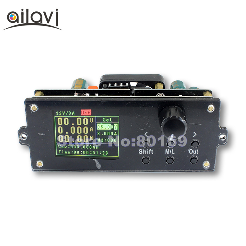 DPX3203 CNC Adjustable Voltage Regulator 0 32V 3A Adjustable DC Power Supply Buck Module Digital Display Voltage and Current