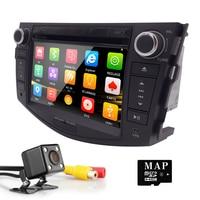7 HD Touch Screen Car Radio 2din Audio GPS Navigation Car Dvd Player For Toyota RAV4
