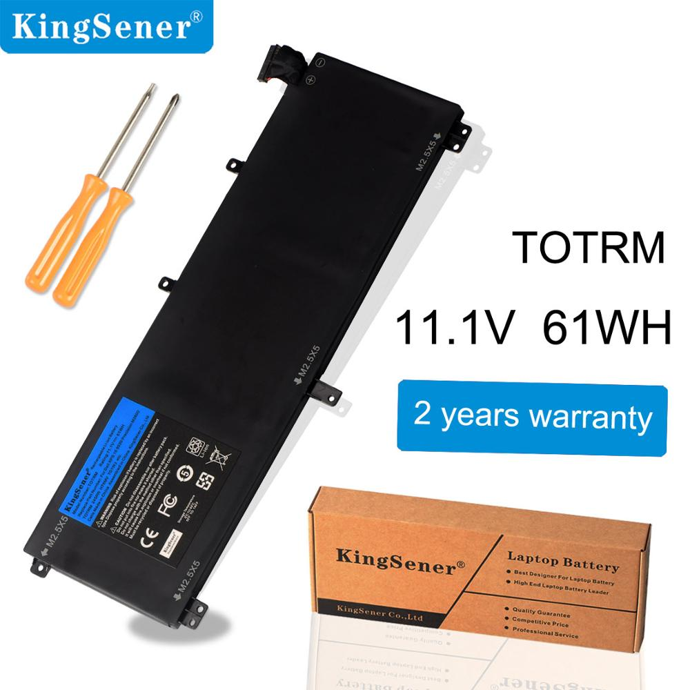 Аккумулятор KingSener T0TRM для ноутбука Dell XPS 15 9530 Precision M3800 TOTRM H76MV 7D1WJ 61WH, 2 года гарантии