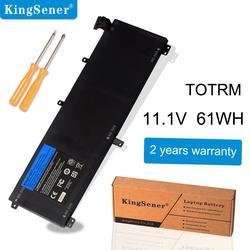 KingSener nueva batería T0TRM para ordenador portátil Dell XPS 15 9530 precisión M3800 TOTRM H76MV 7D1WJ 61WH gratis 2 años de garantía