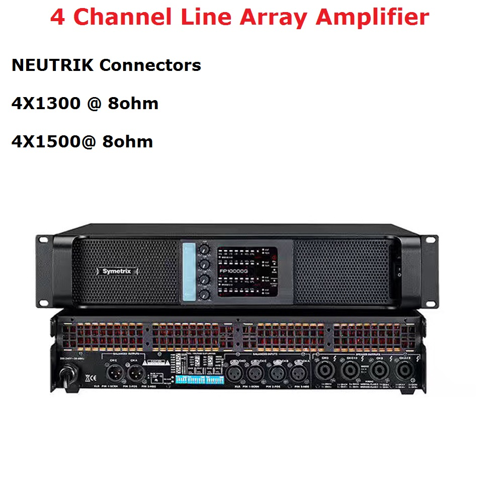 New 4 Channel Amplifier FP10000Q Line Array Amplifier Audio Professional Dj Power Amplifier Subwoofer Power Supply Amplifier-in Stage Lighting Effect from Lights & Lighting