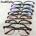 2016 Super Light TR90 gafas Square mujeres marcos de anteojos borde completo 2951 Oftamologia Recipre Doctor monturas de gafas para hombre