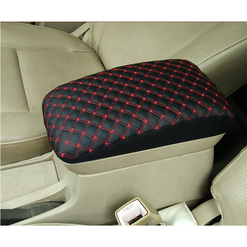 Customized Leather Car Armrest Cover Pad Center Console