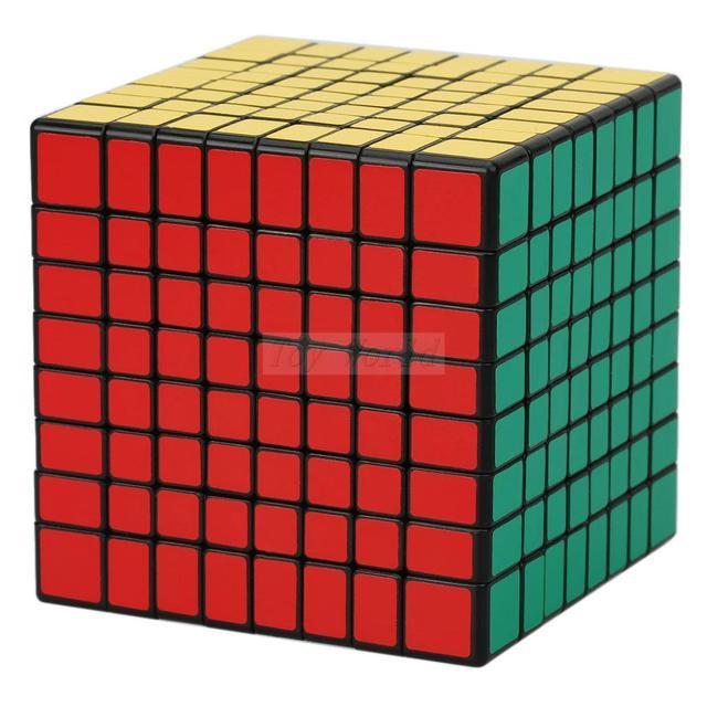 ShengShou 8x8x8 Magic Speed Cube Puzzle Cubo Mágico Cubo de 8x8 con Nuevas Al Por Mayor Metalizado Cubiks Juguetes Educativo Juguetes