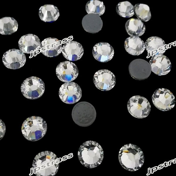 dmc shiny stones of size ss16 4mm crystal color with 1440 pcs per pack  hot 5144fc74a2b0