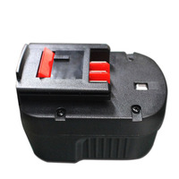 A12 Plastic Case (no battery cell ) For Black Decker 12V NI CD/MH Battery A12 A12 X A12EX FS120B FSB12 HPB12 Shell Boxes Battery Accessories     -