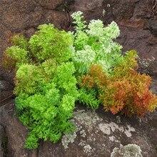 Искусственный пластик мох трава зеленое растение домашний церковный магазин цветочные зеленые настенные украшения