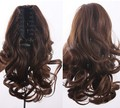 12'', 5 colors, wavy Ponytails with clip, Synthetic hair ponytail, Hair Extensions, 1pcs