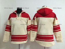 Hockey Jersey Hoodie Custom Any Name Any Number Hockey Jersey High Quality Stitched Logos Ice Hockey Jersey Hoodie Sweater