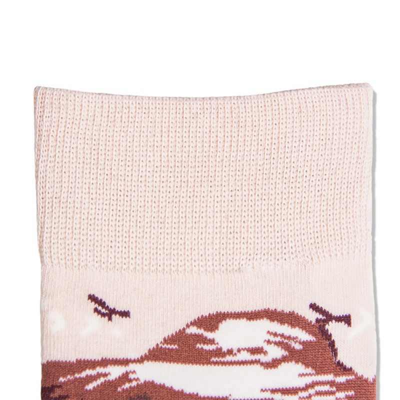 Милые детские носки в трубке; рождественские носки с геометрическим рисунком для беременных женщин; сезон осень-зима; женские носки из хлопка