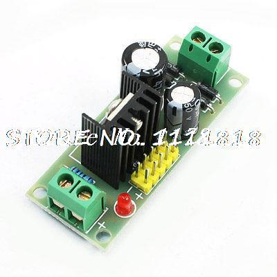 цена на DC5V Voltage Stabilizer Regulator Module 3 Terminals L7805 for Arduino