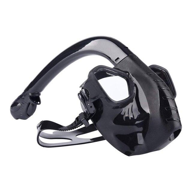 Επαγγελματική μάσκα κατάδυσης κολύμβησης με αναπνευστήρα Αντιθαμβωτικά γυαλιά