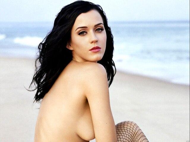 Katy Perry Topless Beach Hot Boobs Pop Music Art Huge Print Poster Txhome D7161