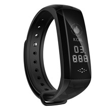 New M2Z Smart Band Heart Rate Blood Pressure Fitness Bracelet Pedometer Wristband Activity Tracker Smartband PK xiaomi mi Band 2(China)
