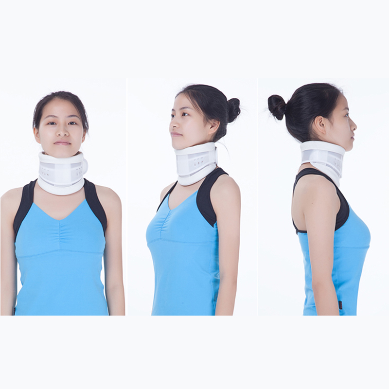Ajustable traction device neck fixation support fixed Cervical correction medical neck support orthosis adjustable cervical collar device fixed traction braces vertebra rehabilitation head protection