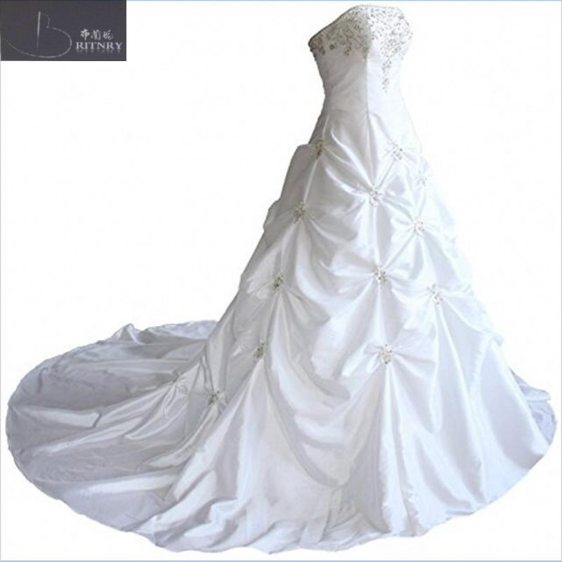 Retro Strapless Appliqued Bodice Hand Made Draed Ball Gown Skirt