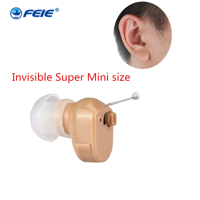 MicroEar Invisible CIC Hearing Aid Mini Digital Hearing Aids For The Elderly Small ITE Ear Aids Hearing Amplifier S 900A