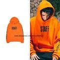 Alta qualidade novo 2016 hip hop homens streetwear unisex justin bieber propósito pessoal turnê capuz gigante em orange tamanho s-3xl