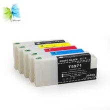 Winnerjet 9 colors full dye ink cartridge for Epson Stylus Pro 7890 9890 7908 9908 compatible ink cartridges цена в Москве и Питере