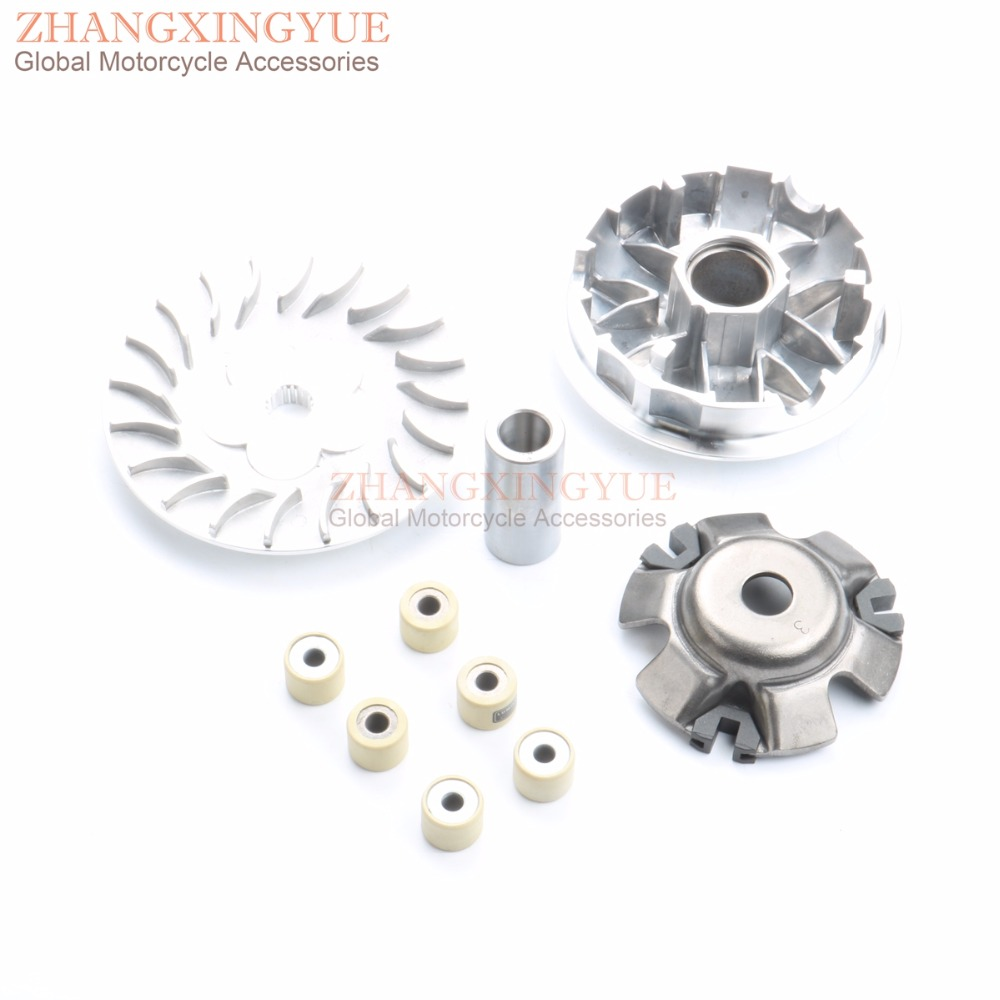 Image 4 - 61mm 4 Valve / 4V Large Bore Performance Kit & Drive Assembly & +3mm Crankshaft for GY6 GP110 125 150 Upgrade to 180cc 157QMJ4 valvebore kitgy6 180cc kit -