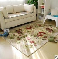 Rustic intergards handmade polyacrylonitrile fiber carpet living room coffee table corridor carpet