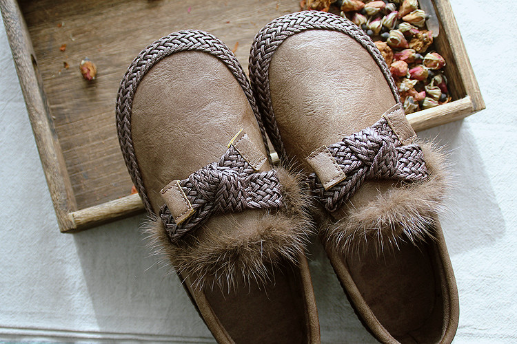 Décontractées Ronde Sen Printemps Poilu Femmes camel Aide Bouche Tête Chaussures Basse Profonde Arc Département Noir Peu Plat De khaki 6vZxdWZq