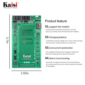 Image 3 - Huawei Samsung xiaomi, plaque dactivation de la batterie du téléphone, gabarit de câble USB de charge pour iPhone, 4 8X, Huawei, Test du Circuit