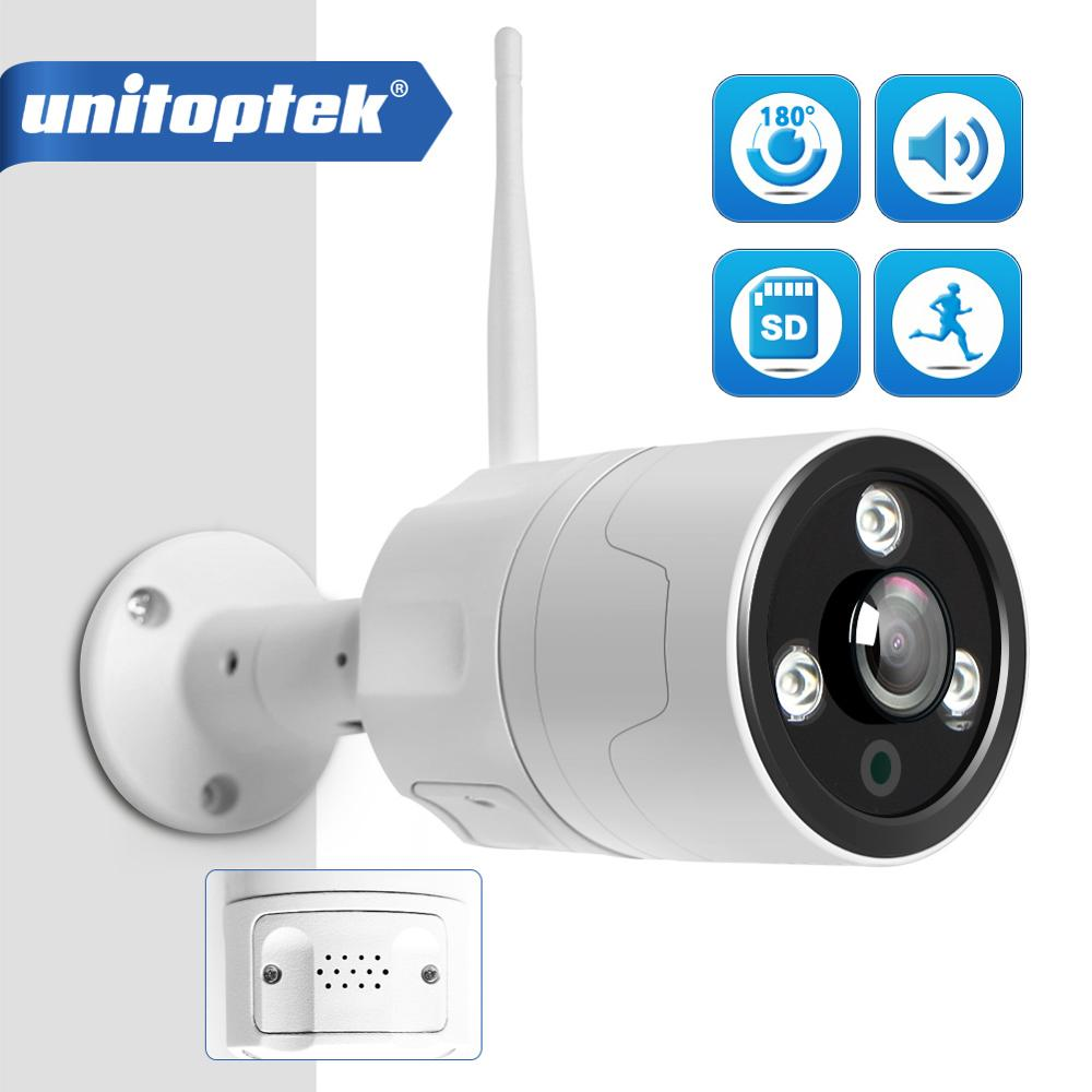 Outdoor WIFI IP Camera ONVIF 1080P Fisheye Lens 180 Degrees View Security Bullet Day Night View