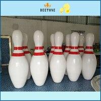 A buon mercato gigante gonfiabile blowing per la palla zorbing gonfiabile di alta qualità pins vendita