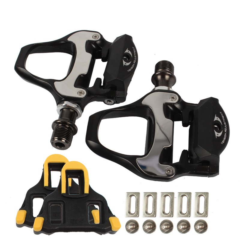 Road Bike Pedals SPD SL Self locking Pedal With SH11 Cleats For SHIMANO R550 Bike Pedal