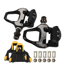 цена на Road Bike Pedals  SPD-SL Self-locking Pedal With SH11 Cleats  For SHIMANO R550 Bike Pedal  Bicycle Accessories