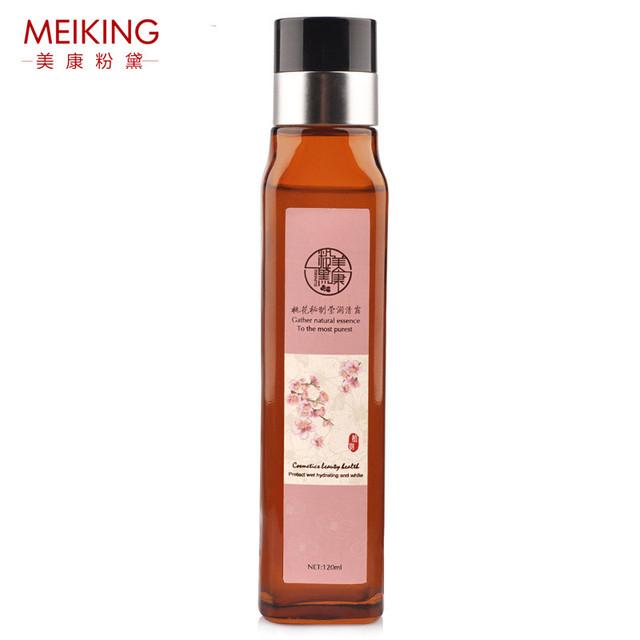 120 ml peonía cara suave de la piel de tóner tónico suave simple toners facial para piel mixta seca aceitosa sensibles de mujer de marca meiking