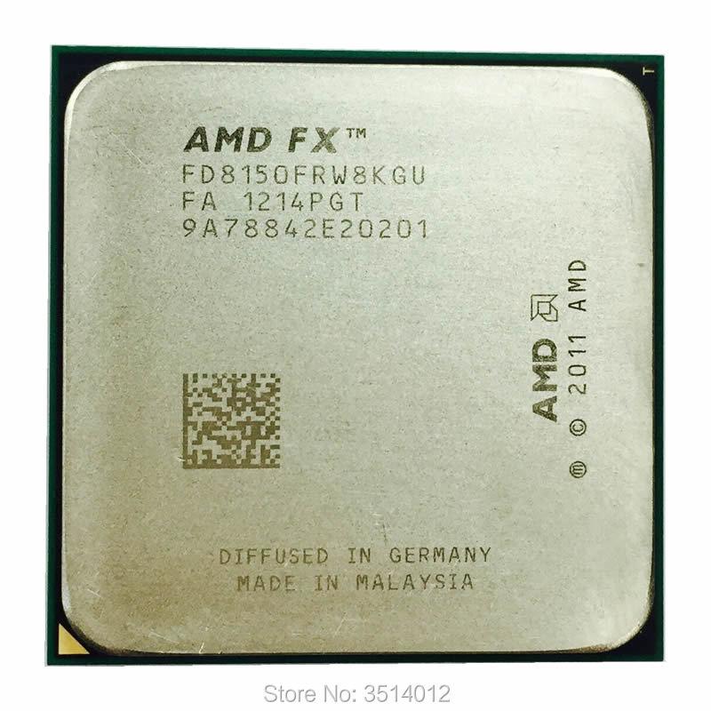 AMD FX-Series FX-8150 Eight-Core Socket AM3 CPU Processor 3.6GHz FD8150FRW8KGU