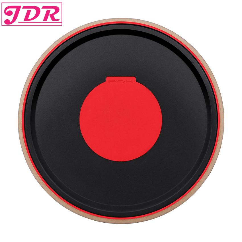 JDR Drum Practice Pad Bongo Percussion Mute Pad Rack Drum for Combat Practicing Rhythm Playing Tambourine Music Instrument рама millenium pdr 5004 prof drum rack