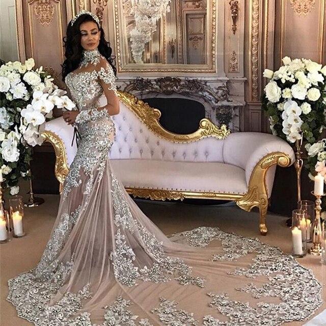 Saudi arabien Vogue Kleider Meerjungfrau Vollen Ärmeln Kleider Marke ...