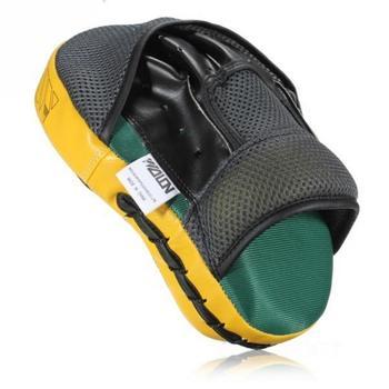 高ストリッピングpuレザー多層化合空洞ボクシングミット保護衝撃吸収ムエタイキックボクシングショーツmmaトレーニング
