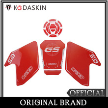 KODASKIN 3D Printing G310GS Gas Traction Tank Pad Protectiion Sticker Decal RED
